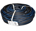 Rubber-fabric hoses, clamps