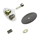 Spare parts for gas cylinder pressure regulators