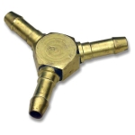 T-sockets for hose branching