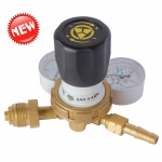 "Acetylene pressure regulator to a cylinder type ""AGA"" BAO-5-4DM"
